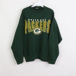 Vtg 90s Green Bay Packers Mens Large Sweatshirt